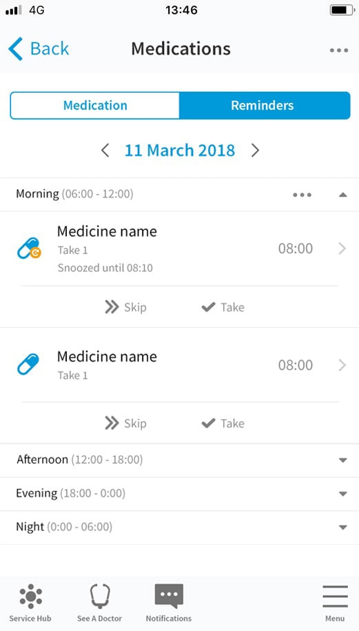 Receive Medication Notifications